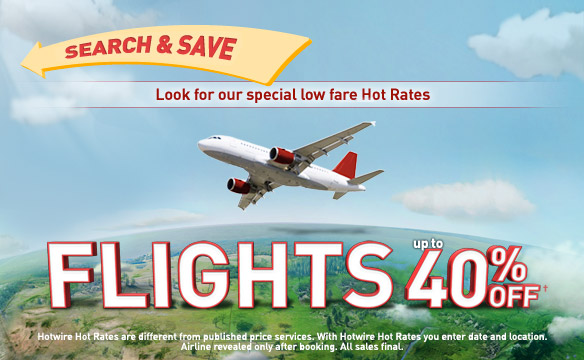 hotwire airline tickets