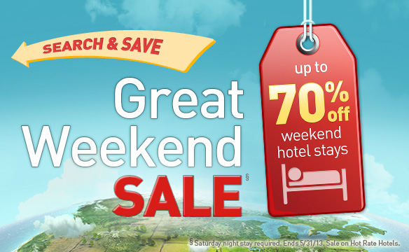 Search & Save: Get up to 50% off hotels with low Hotwire Hot Rates