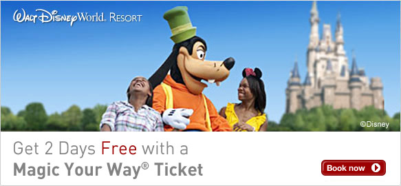 Get Two Days Free with a Magic Your Way® Ticket