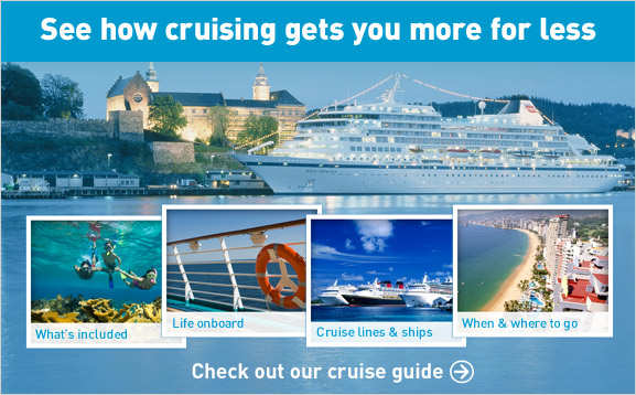See how cruising gets you more or less. Check out our cruise guide.