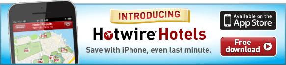Introducing Hotwire Hotels for iPhone.